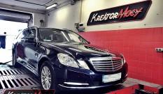 Mercedes W212 E 300 CDI 231 KM – remap