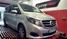 Mercedes W447 V 200 CDI 136 KM – podniesienie mocy