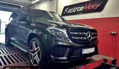 Mercedes X166 GLS 350d BlueTec 258 KM – podniesienie mocy