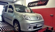 Renault Kangoo 1.5 DCI 80 kW 110 KM – remap