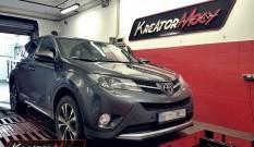 Toyota RAV4 2.0 D4D 124 KM – podniesienie mocy