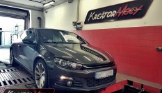 VW Scirocco 2.0 TSI 200 KM – remap