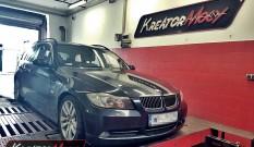 BMW 3 E91 325d 3.0d 197 KM – podniesienie mocy