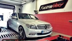 Mercedes W204 C320 CDI 224 KM – remap