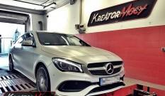 Mercedes C117 CLA 250 2.0T 211 KM – podniesienie mocy