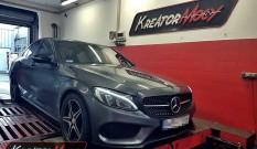Mercedes W205 C 450 AMG 3.0 367 KM – modyfikacja mocy