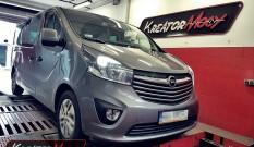 Opel Vivaro II 1.6 Biturbo CDTI 145 KM – podniesienie mocy