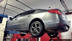 Peugeot 508 Hybrid 2.0 HDI 163 KM – usuwanie DPF