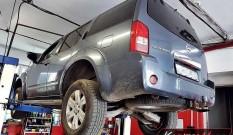 Nissan Pathfinder 2.5 DCI 174 KM – usuwanie DPF