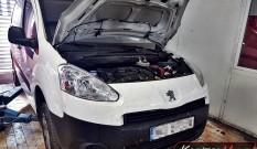 Peugeot Partner II 1.6 HDI 75 KM – usuwanie FAP