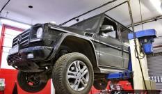 Mercedes W463 G 350 Bluetec 211 KM – usuwanie DPF i SCR