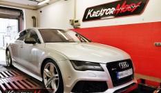 Audi A7 3.0 TFSI 300 KM 221 kW (CGWB) – modyfikacja mocy