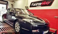 Citroen C6 3.0 HDI V6 240 KM – podniesienie mocy