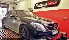 Mercedes W222 S 63 AMG 5.5 V8 585 KM – podniesienie mocy