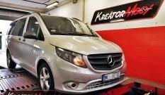 Mercedes W447 Vito 111 CDI 1.6 114 KM – podniesienie mocy