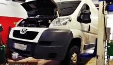 Peugeot Boxer 2.2 HDI 110 KM SID208 – zapchany DPF