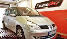 Renault Espace 2.0 Turbo 170 KM – podniesienie mocy