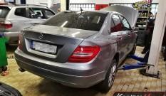 Mercedes W204 C220 CDI 170 KM – usuwanie DPF