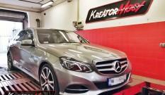 Mercedes W212 E 250 2.0T 211 KM – podniesienie mocy