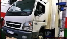 Mitsubishi Canter Fuso 3.0 DDI 145 KM – usuwanie DPF