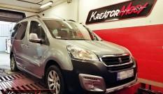 Peugeot Partner II 1.6 BlueHDI 120 KM – podniesienie mocy