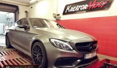 Mercedes W205 C63 AMG 4.0 V8 476 KM – podniesienie mocy