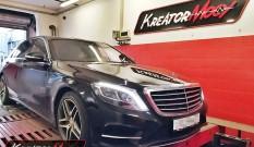 Mercedes W222 S 400 3.0 BiTurbo V6 333 KM – podniesienie mocy