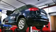 Audi A3 8P 2.0 TDI CR 170 KM – zapchany DPF