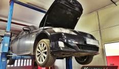 Lexus is200d 2.2d 150 KM – usuwanie DPF