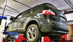 Nissan Qashqai+2 2.0 DCI 150 KM – zapchany FAP