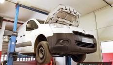 Peugeot Partner II 1.6 HDI 92 KM – usuwanie FAP