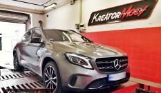Mercedes X156 GLA 180 CDI 1.5d 109 KM – podniesienie mocy