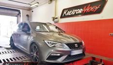Seat Leon 5F Cupra 4Drive 2.0 TSI 300 KM (CJXC) – podniesienie mocy