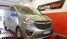 Opel Vivaro 1.6 CDTI Biturbo 125 KM – podniesienie mocy
