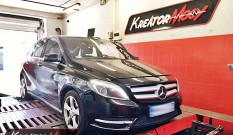 Mercedes W246 B 180 1.6T 122 KM – podniesienie mocy