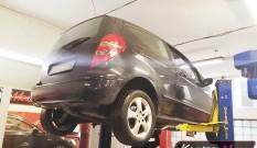 Mercedes W169 A 180 CDI 2.0 109 KM – usuwanie DPF