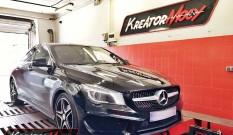 Mercedes C117 CLA 200d 2.1 136 KM – podniesienie mocy