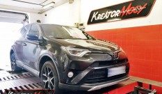Toyota RAV4 2.0 D4D 143 KM – podniesienie mocy