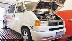 VW Transporter T4 2.5 TDI 102 KM – podniesienie mocy