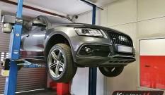 Audi Q5 2.0 TDI 190 KM (CNHA) – usuwanie DPF i SCR