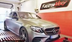 Mercedes W213 E 43 AMG 3.0T 401 KM – podniesienie mocy