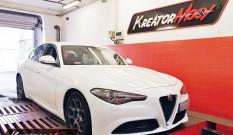 Alfa Romeo Giulia 2.0 Turbo 200 KM – podniesienie mocy
