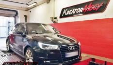 Audi A1 1.0 TFSI 95 KM – podniesienie mocy