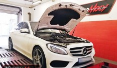 Mercedes W205 C 300 2.0 Turbo 245 KM – podniesienie mocy
