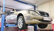 Mercedes W220 S320 CDI 204 KM – usuwanie DPF
