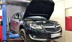 Opel Insignia 1.6 CDTI 136 KM – usuwanie DPF