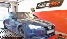 Audi A4 B9 3.0 TDI 218 KM (CSWB) – chiptuning