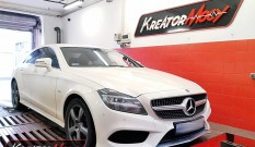 Mercedes C218 CLS 350 BlueTec 3.0d 258 KM – chiptuning