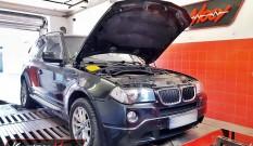 BMW X3 E83 18d 2.0d 143 KM – chiptuning