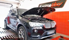 BMW X3 F25 sDrive18d 2.0d 150 KM – chiptuning